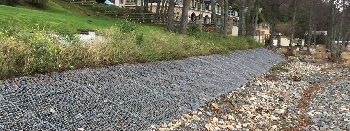 Loch Tay Gabions - JML Contracts