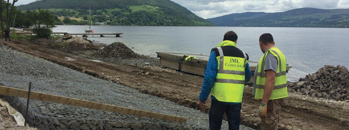 Loch Tay Gabions - JML Contracts