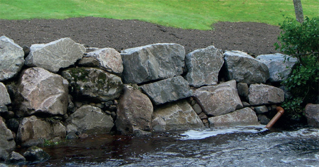 Erosion Stabilisation Work, Waters Of Feugh, Banchory