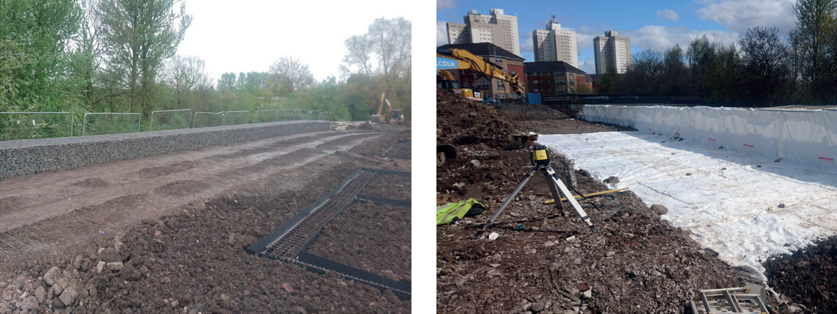 Riverford Road Retaining Works