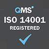 ISO 14001 Registered Grey
