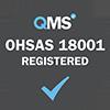 OHSAS 18001 registered grey